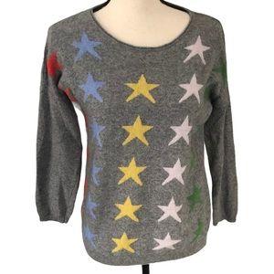 Bartolini | Italy gray pullover cashmere sweater M